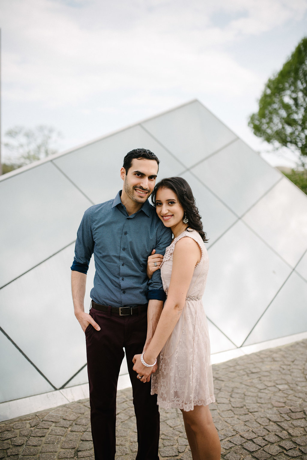 engaged at the national gallery of art
