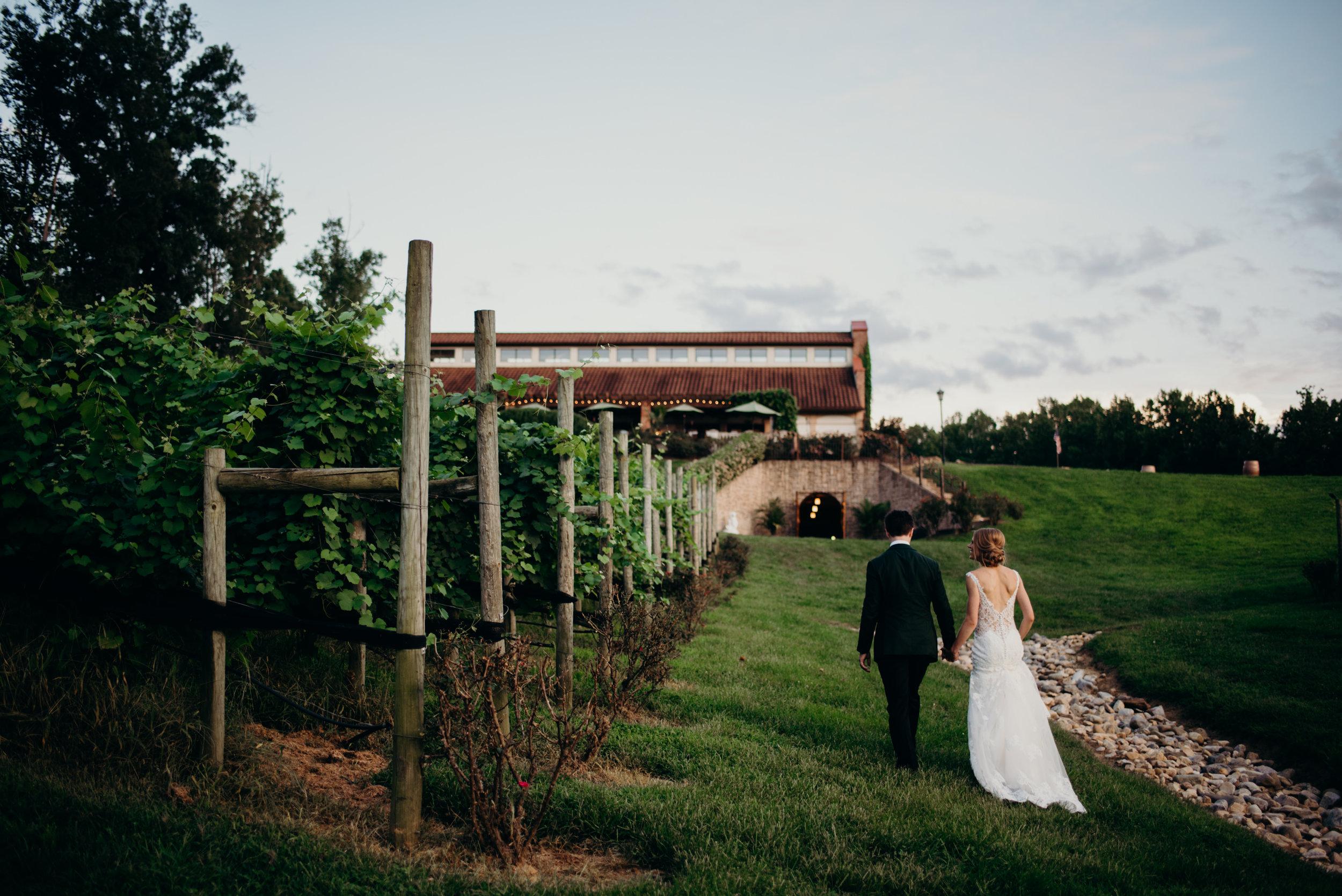 f2038b1c2609a Classic Virginia Summer Winery Wedding // Potomac Point Winery