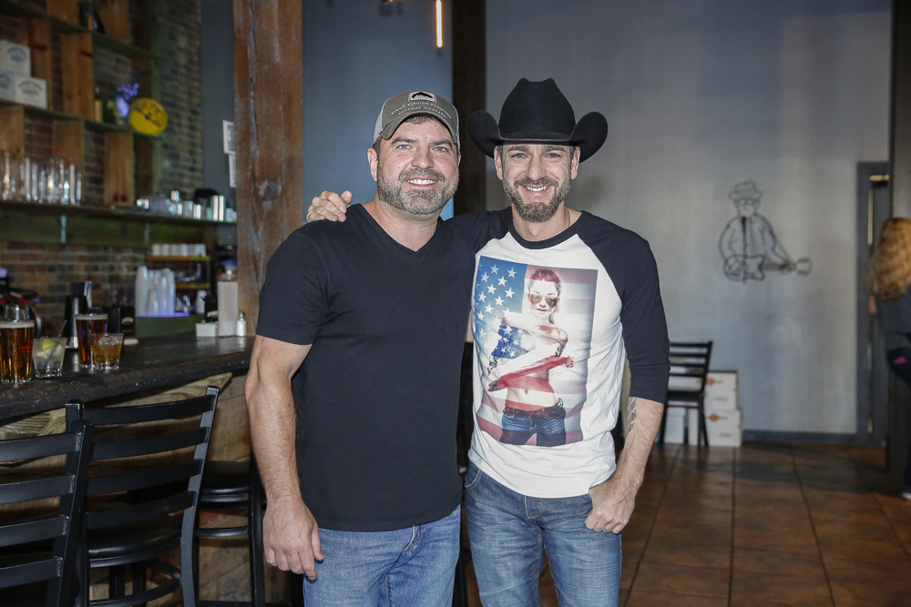 Dave Turnbull and Craig Campbell at The Listening Room Cafe