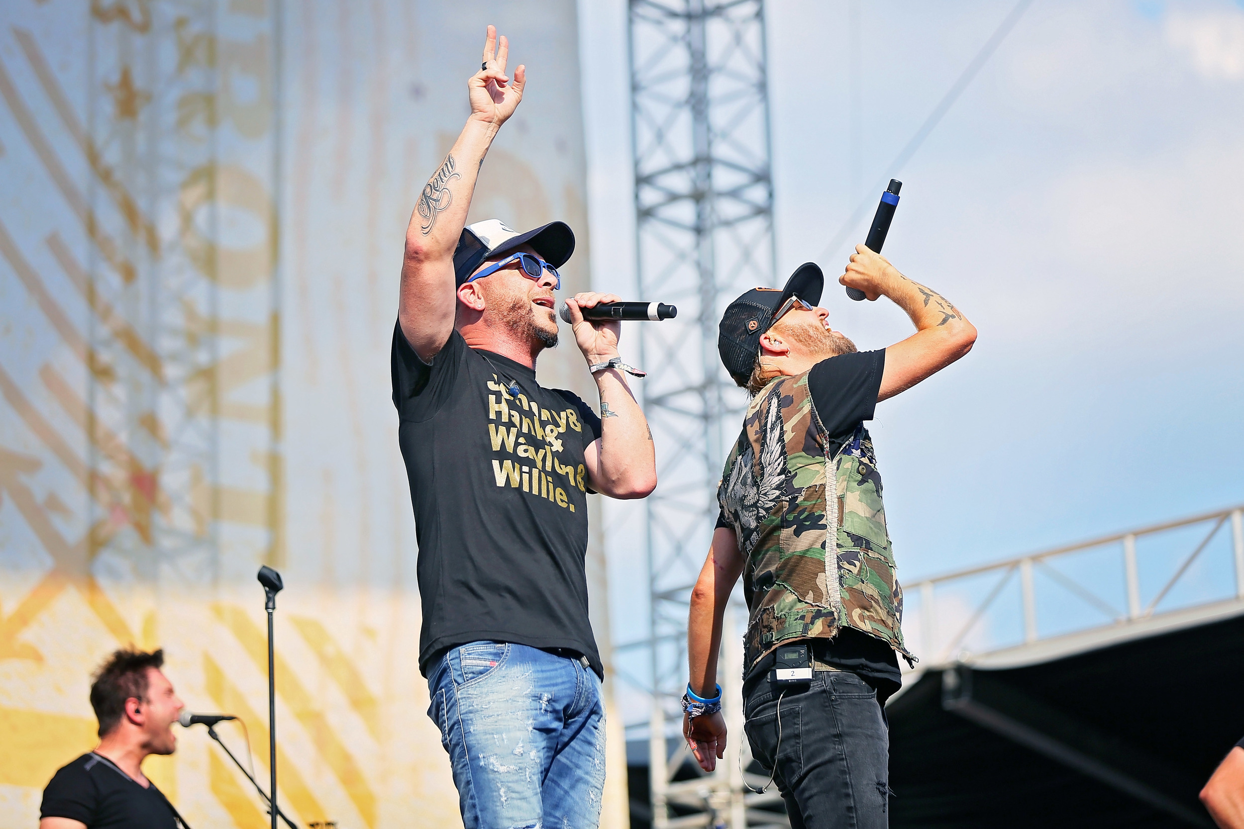 LoCash performs at Riverfront Stage during CMA Fest