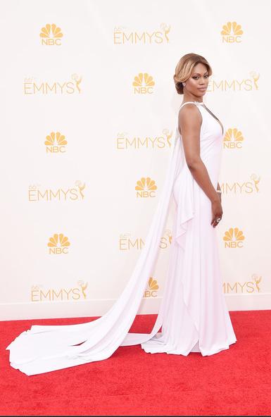 Laverne Cox, 2014 Primetime Emmys Awards