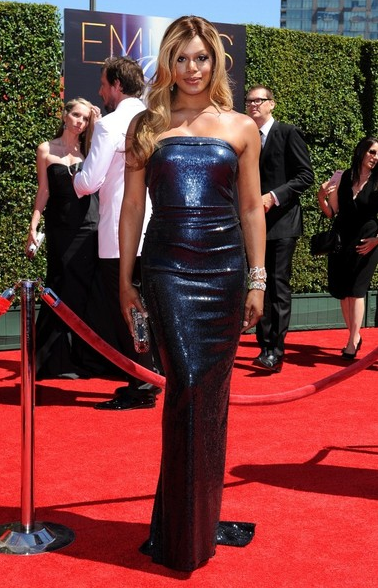 Laverne Cox, 2014 Creative Arts Emmys