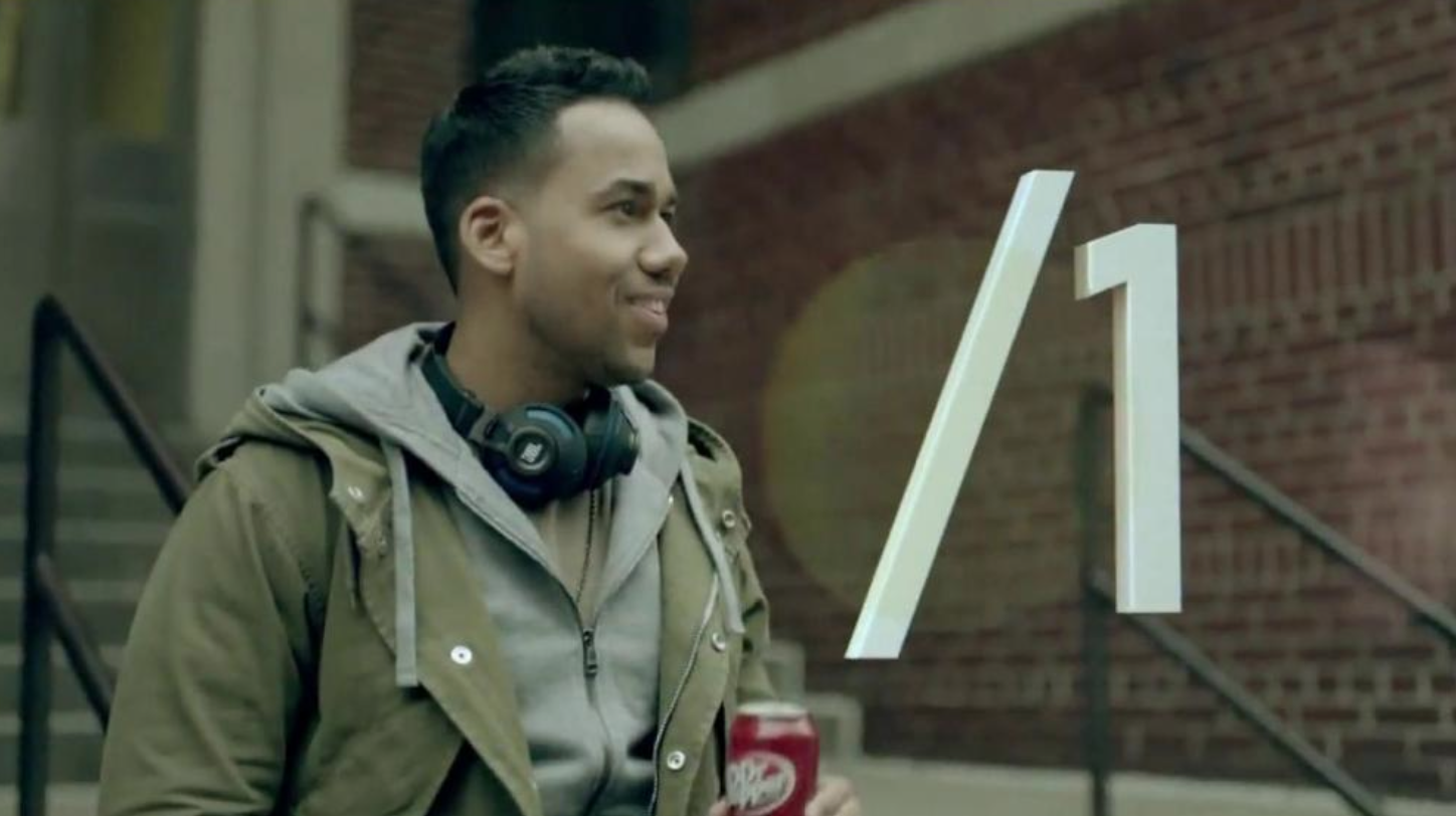 Romeo Santos, Dr. Pepper Television Commercial 2014
