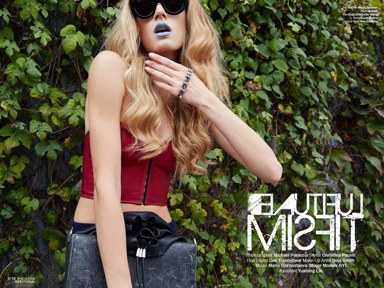 """Beautiful Misfit"" Jute Magazine January 2015"