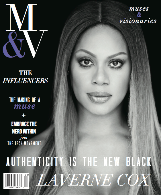 Muses and Visionaries Magazine cover story, February/March 2015