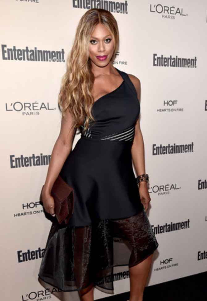Laverne Cox, Entertainment Weekly Emmys Party 2015