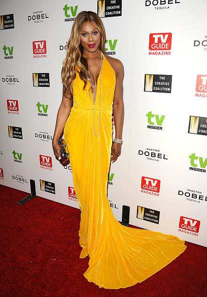 Laverne Cox, Variety Emmys Party 2015