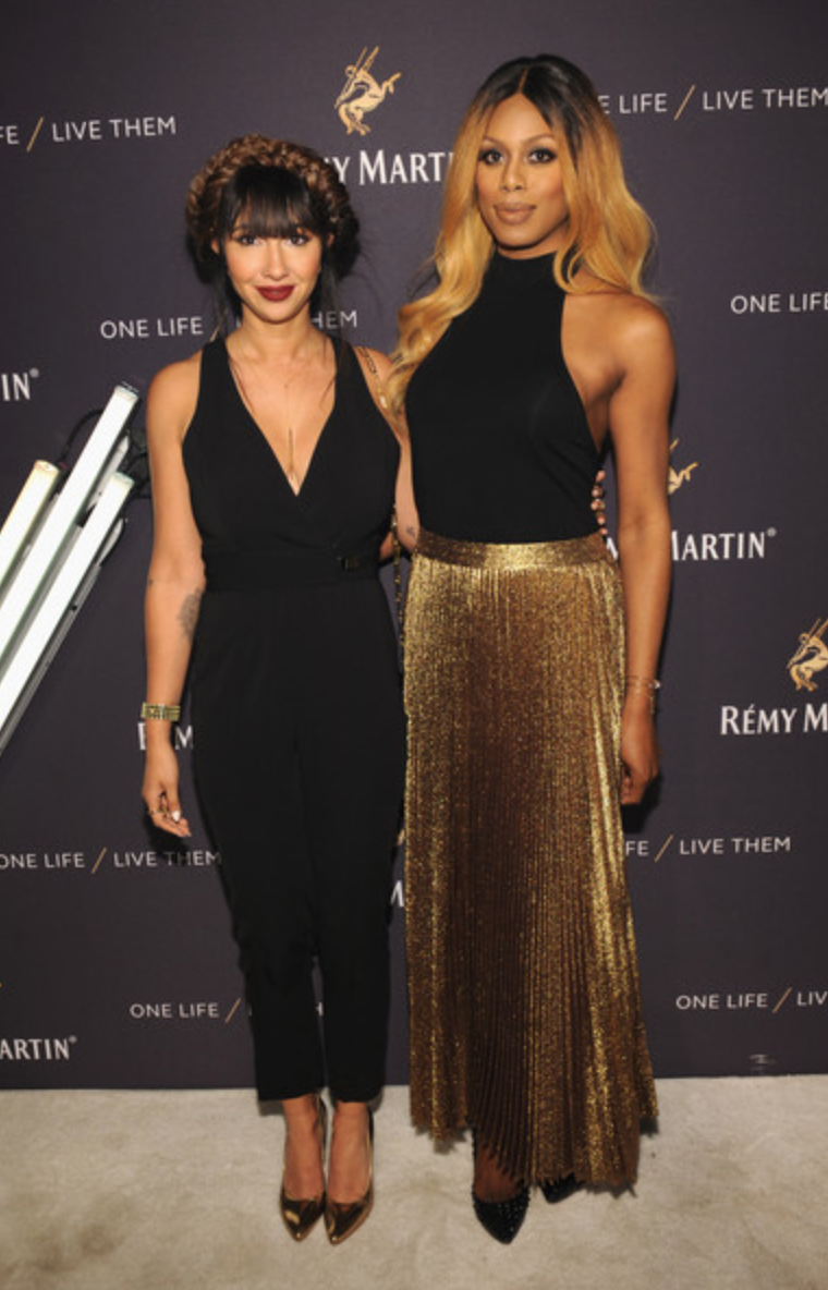 Laverne Cox, Jackie Cruz at House of Remy Martin event