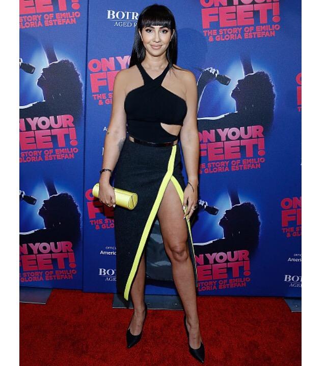 Jackie Cruz, On Your Feet Broadway Premiere 2015
