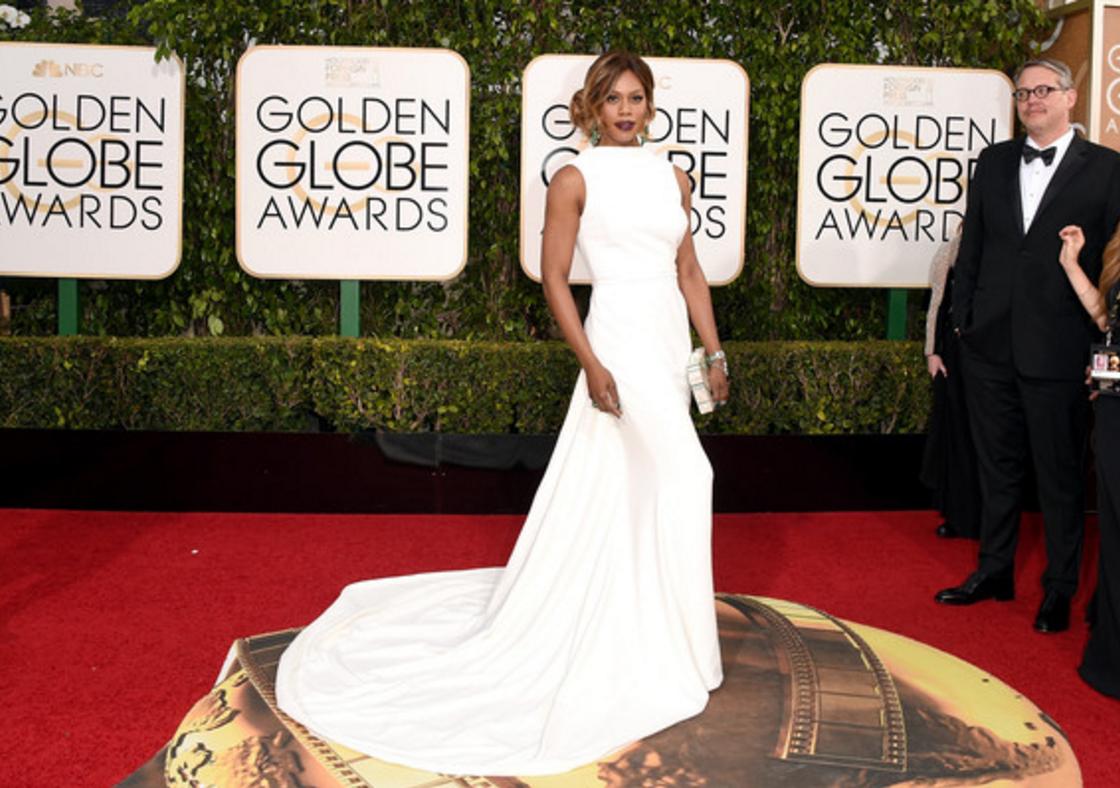 Laverne Cox, 2016 Golden Globes
