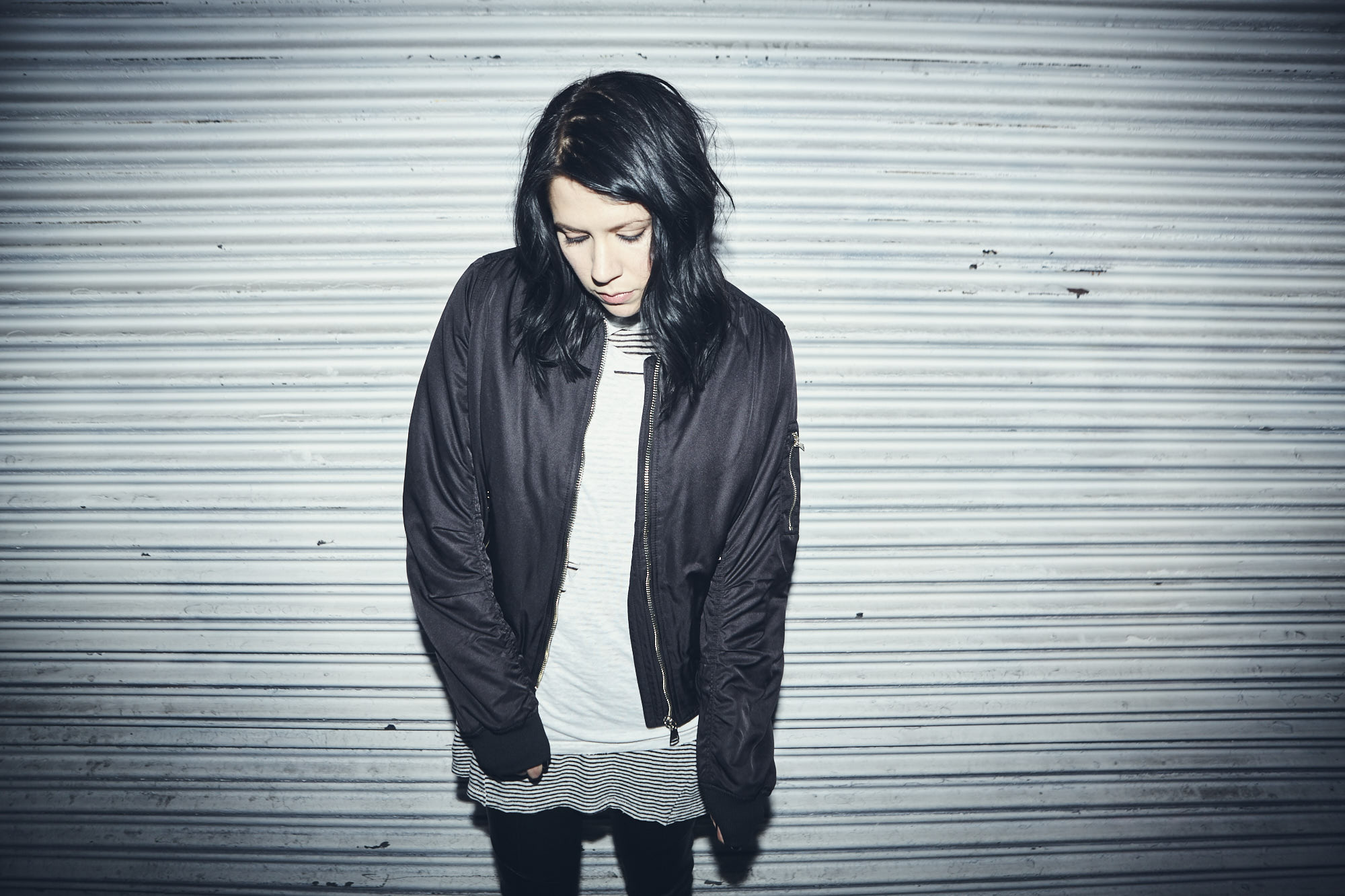 K. Flay. Photographed by Koury Angelo