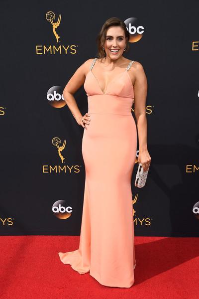 """""""Unbreakable Kimmy Schmidt's"""" Lauren Adams at Emmys 2016"""