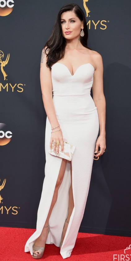 "Trace Lysette of ""Transparent"" at Emmys 2016"