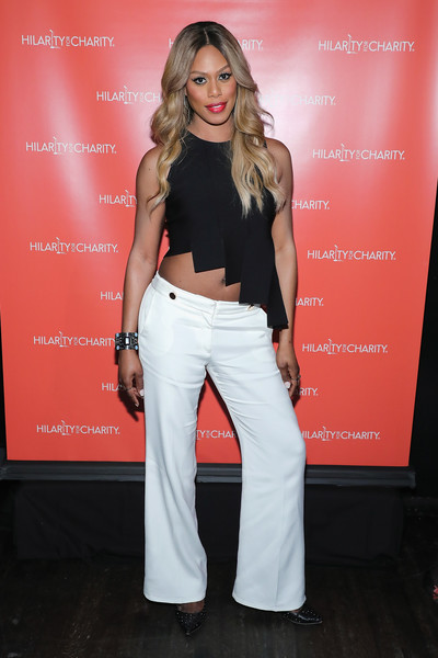 Laverne Cox at the Hilarity for Charity 2016 event