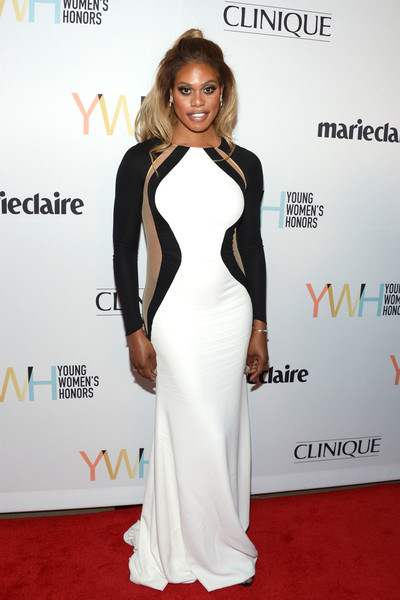 Laverne Cox at Young Women's Honor red carpet