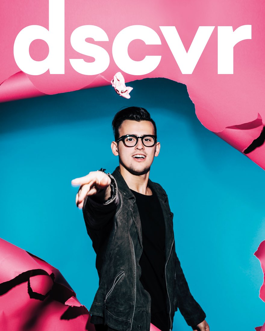 "Vevo DSCVR Magazine featuring Stanaj in their annual list, 2017's ""Ones to Watch"""