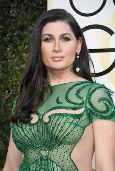 Trace Lysette at the Golden Globes