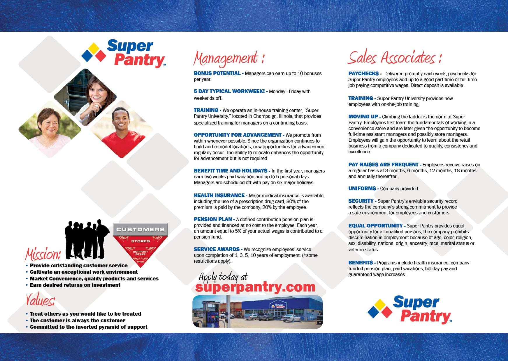 Employee Recruitment Tri Fold Brochure (Inside)