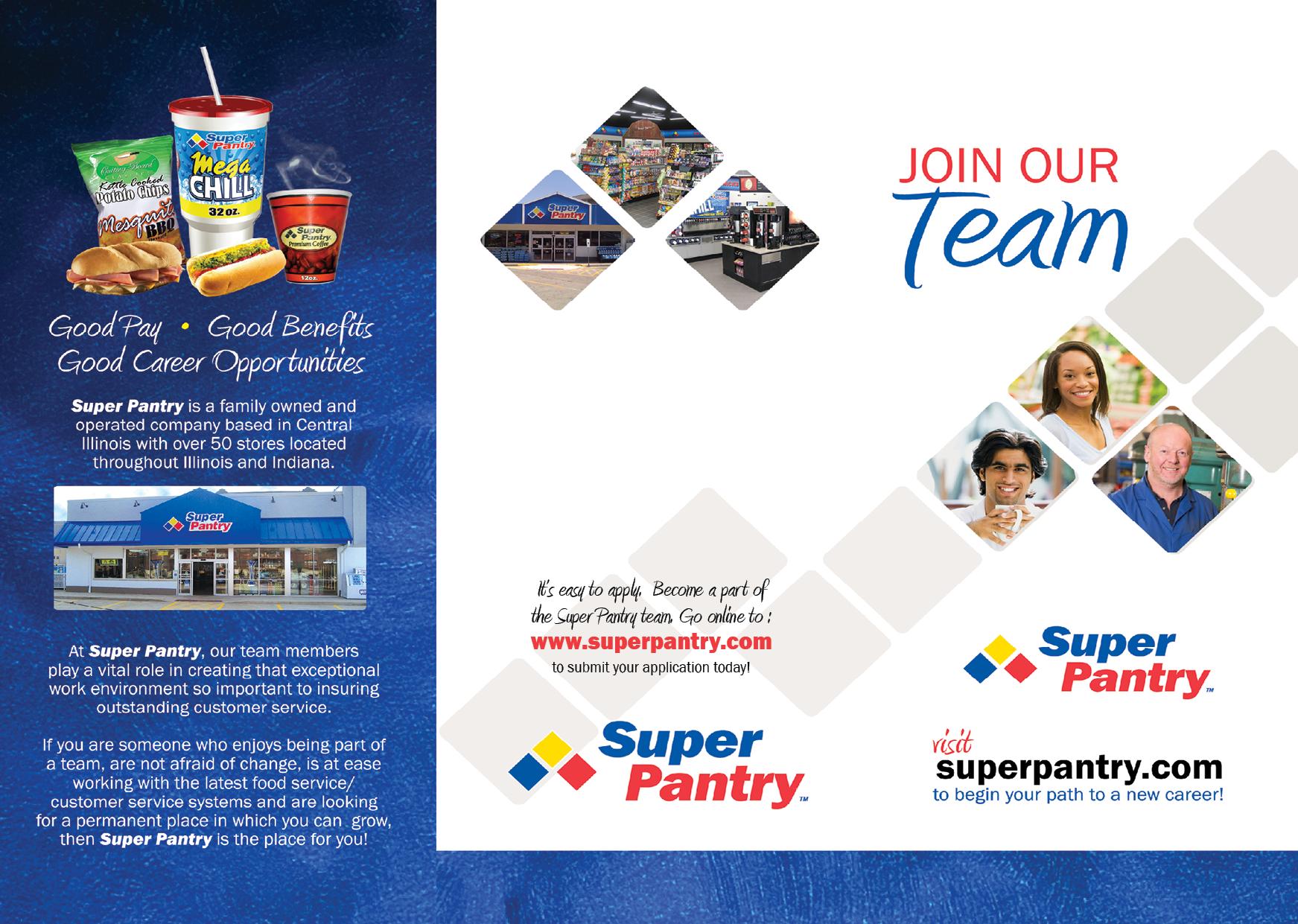 Employee Recruitment Tri Fold Brochure (Front)