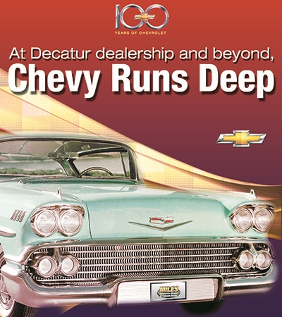 100 Years of Chevy Special Section cover
