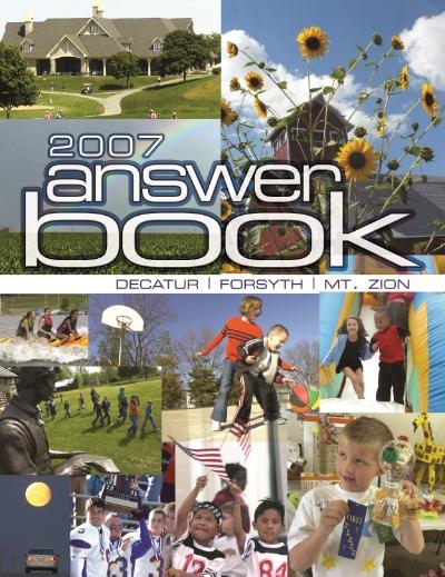 Answer Book Cover 2007