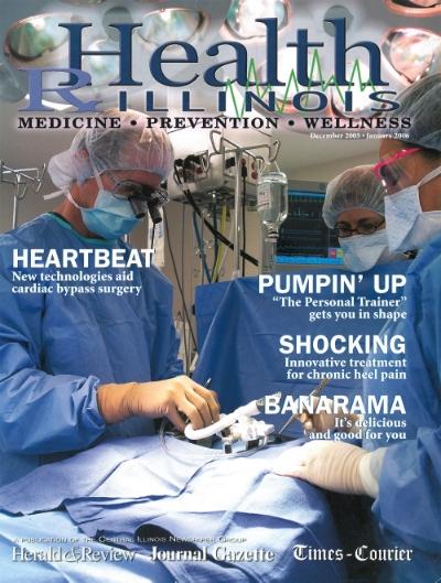 Health Illinois Magazine cover December 2005