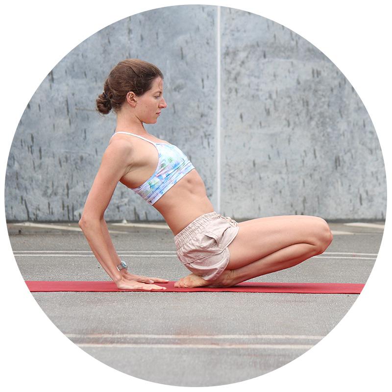 DAY 14: yin yoga #anklestretch
