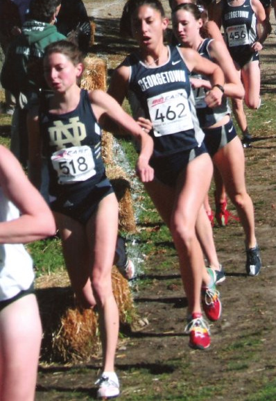 Running at Big East XC in Franklin Park, Boston during my senior year