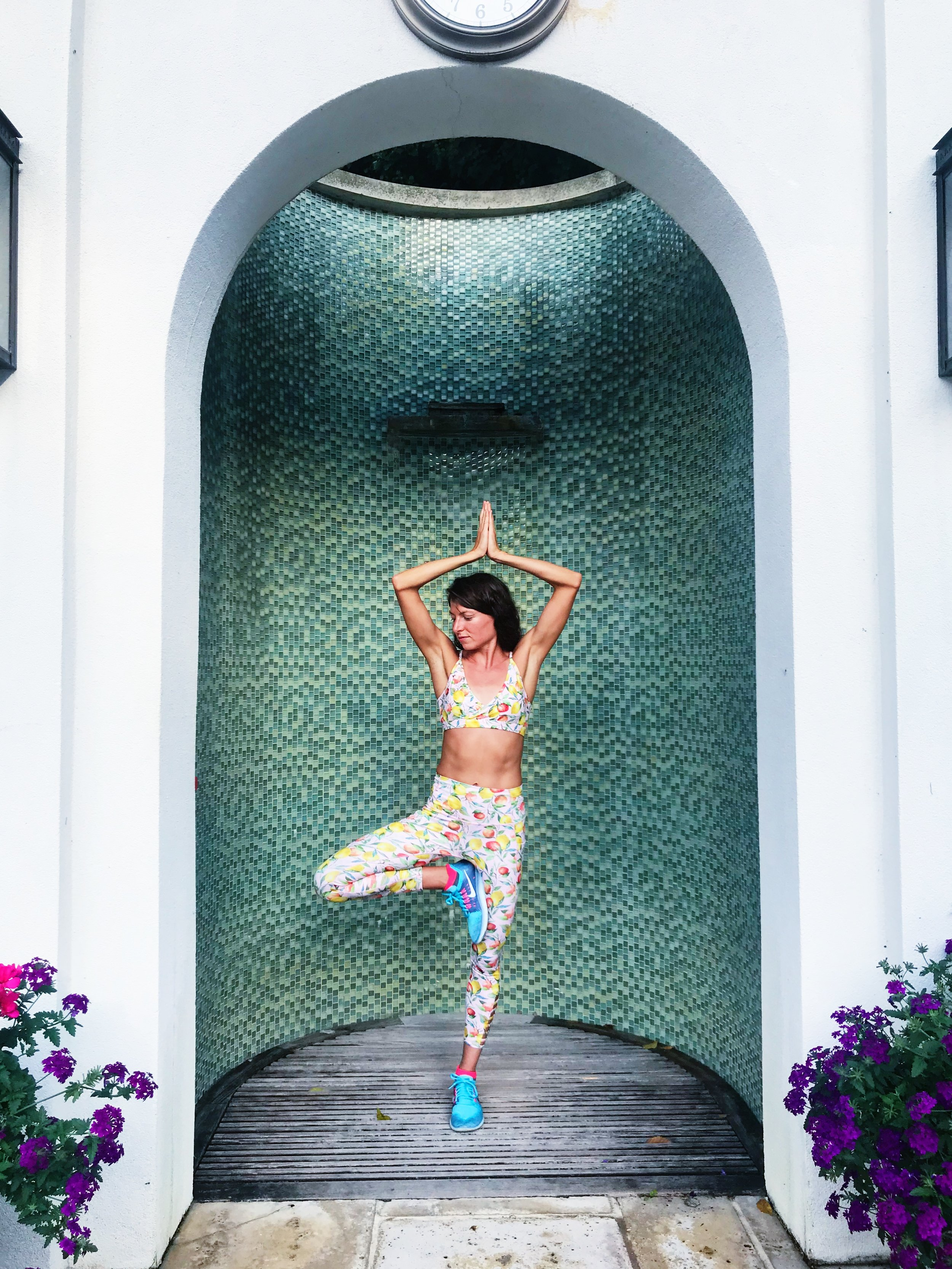 Another definite pro: I can do all the yoga I want and need in my own time.