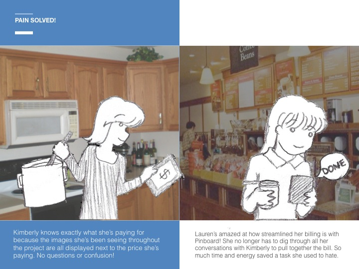 Our illustrated story to present our vision