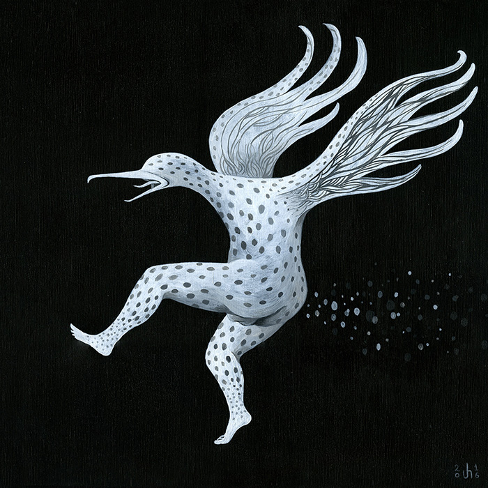 """Kotengu (bird): the streaker"""