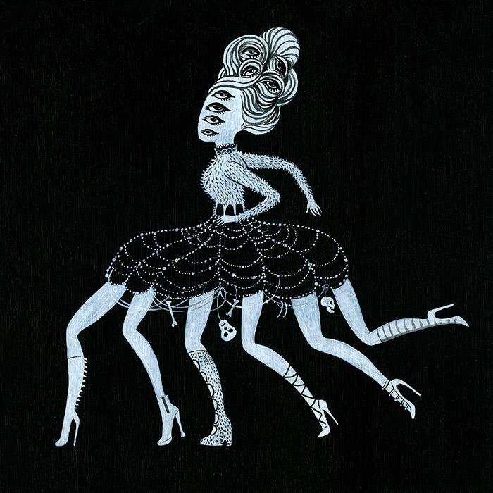 """""""Jorōgumo (spider): dines on virile young men"""""""
