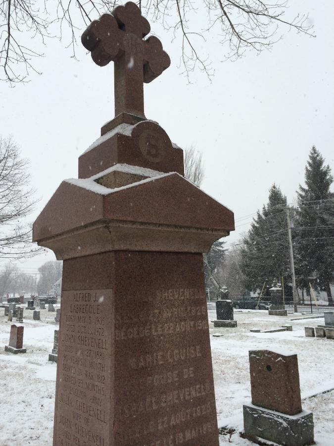 St. Joseph's Cemetery - Biddeford, Maine. Winter 2014