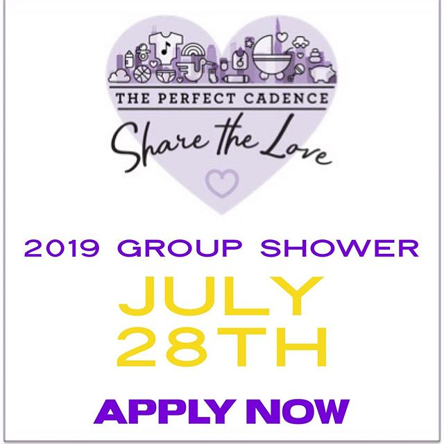 "Since The Perfect Cadence was born, our goal has been to spread love to those who need it most. We understand the notion of the ""village"" and the role it plays in giving babies the best start at life. On July 28th, The Perfect Cadence will host our yearly group shower. This year we'll be back at the Garfield Park Conservatory Community Room, showering several families with all the love they deserve.  If you or a family you know is expecting or recently given birth, and you are in need of some additional support for your new bundle of joy, please apply at the link in bio! #ThePerfectCadence #BecauseLove"