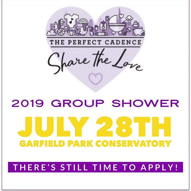 💜💛 APPLY NOW 💛💜 • There's still time to apply to the July 28th group shower! If you or anyone you know is expecting or recently given birth to a new bundle of love, apply to participate in this beautiful event. Link to apply in bio  #SpreadLove #ThePerfectCadence #TPC