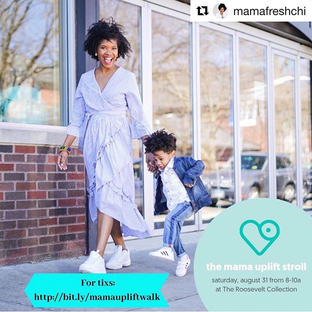 Excited to share and support this incredible event! Please go to @mamafreshchi for more details. We've also donated a pair of tickets thanks to our amazing village!  #Repost @mamafreshchi with @get_repost ・・・ This Saturday I am partnering with @pumpspotting and hosting a Mama Uplift Walk/Rally at Roosevelt Collections.  The Mama Uplift is an advocacy walk to give us time and space to support, honor and celebrate a world where Mamas thrive.   We hope this becomes a day for mothers to feel re-energized, empowered, supported along this journey. Mama Fresh is all about community, this rally is community in ACTION!  There are 4 ways you can support:  1) Buy a tix and attend. If you are a Mama. If you support Mamas. If you love your Mama :) this rally is for you. It would mean the world to me if you were there! Link in Bio!  2) Purchase a ticket to donate. Back to School is coming up and that can make it tricky for a Mama that wants to attend. We don't want her to miss this morning of encouragement.  Purchase a ticket and email me the confirmation. I will make sure this gets to a Mama that needs it!  3) Volunteer. Pull up and help ya girl out! We need volunteers to come and help check Mamas in. Shoot me an email if you can help us between the hours of 8-12  4) Share. Help me spread the word! Share this post in your IG stories so Mamas all across the city now about the Mama Uplift Walk/Rally. 