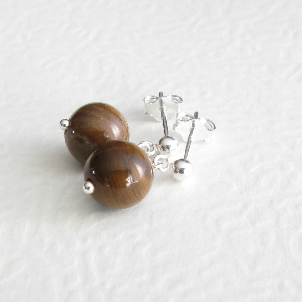 Petrified Palm Wood Fossil Sterling Silver Earrings Elegant Mothers Day Gift for Her Unique One of A Kind Gemstone Long Dangle Earrings