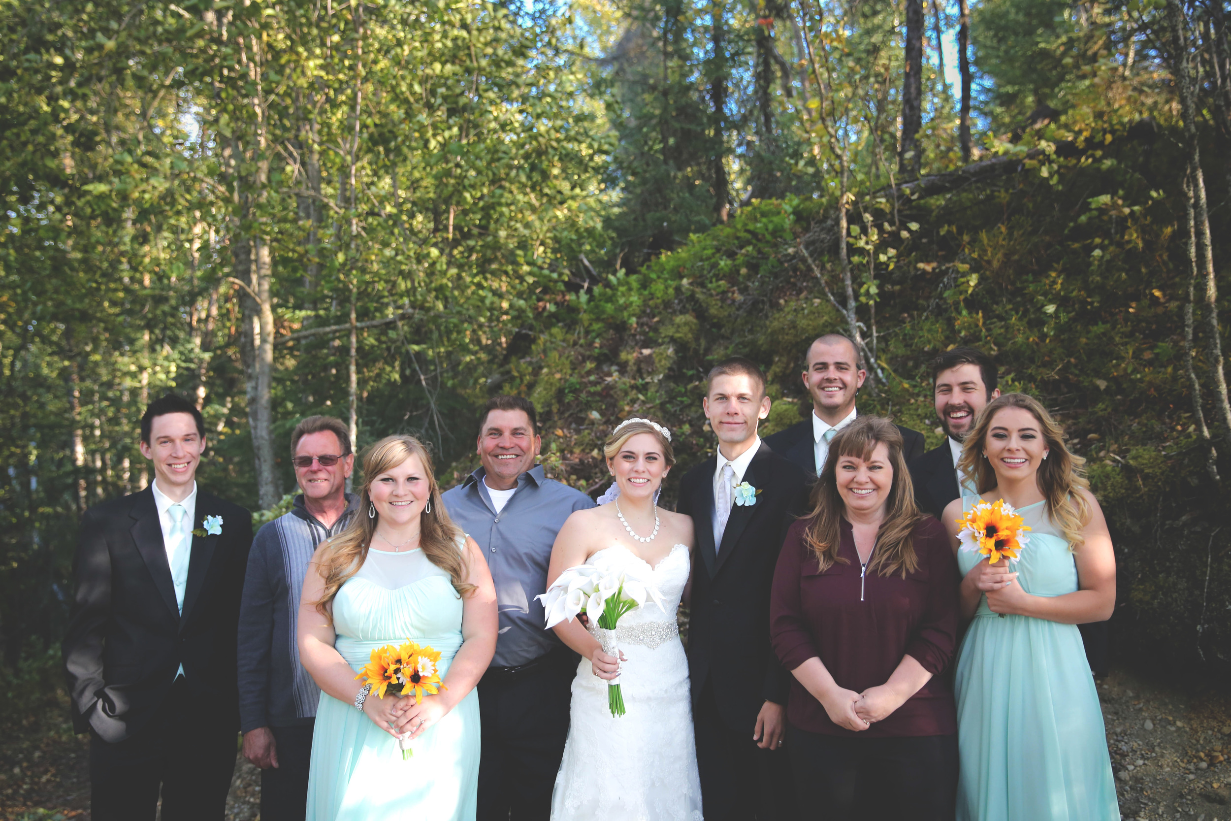 The whole group! I just have to say, everyone was so fun and I love the genuine laughter in this photo. And thanks to Jonny for being such a good sport. :)