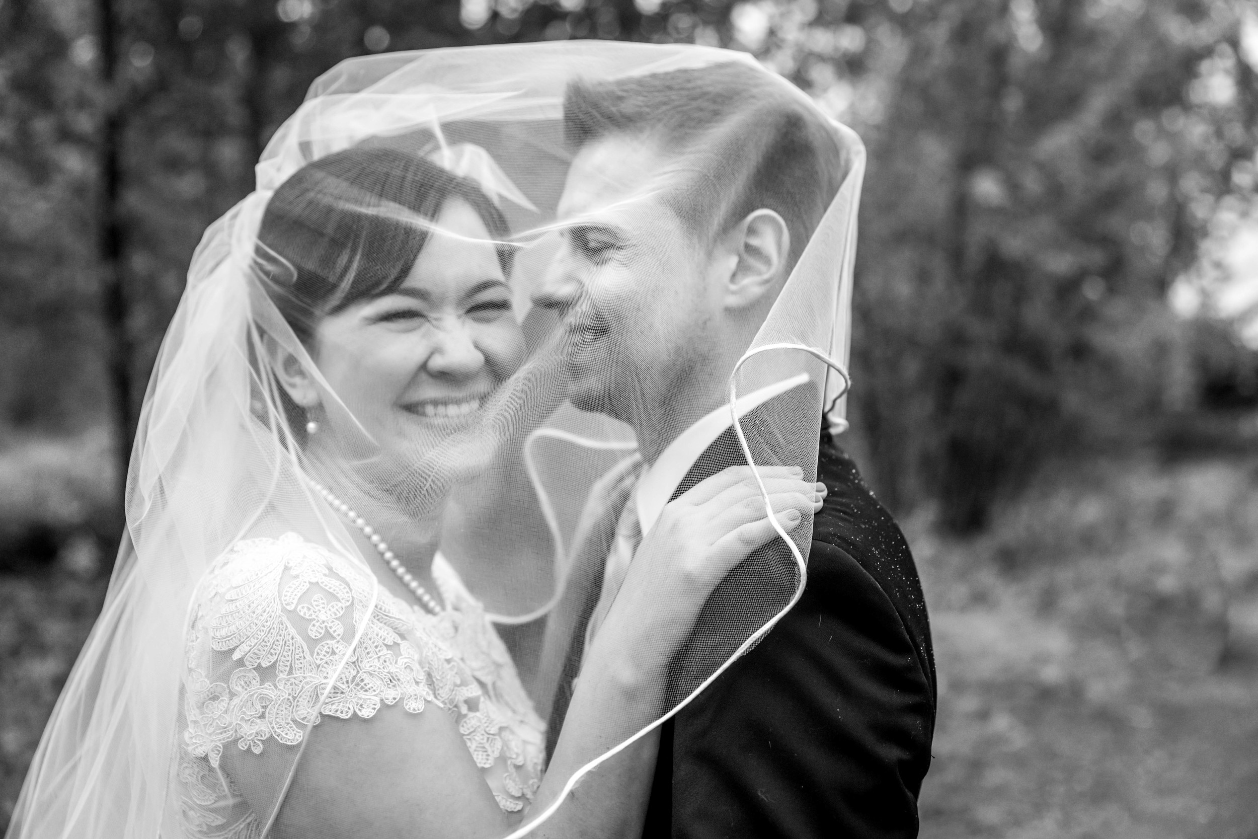Mary was telling me that Jazon always seems to attract more mosquitoes than she does. We laughed about how this veil shot was really like a marital mosquito net. I didn't realize it really was such an inside joke until a bottle of bug spray even worked its way into one of the wedding toasts! Maybe the veil will need to become a part of outdoor Alaska adventures? ;)