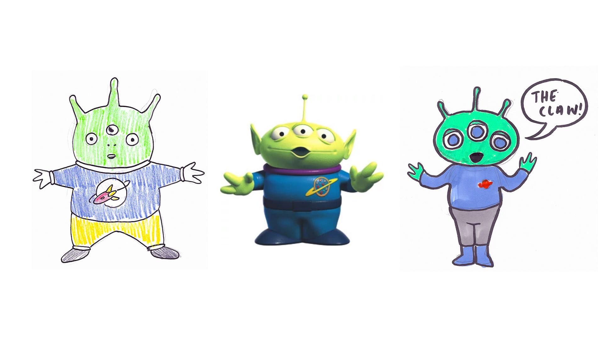 "LITTLE GREEN MEN   Pixar's ""Toy Story"", 1995."