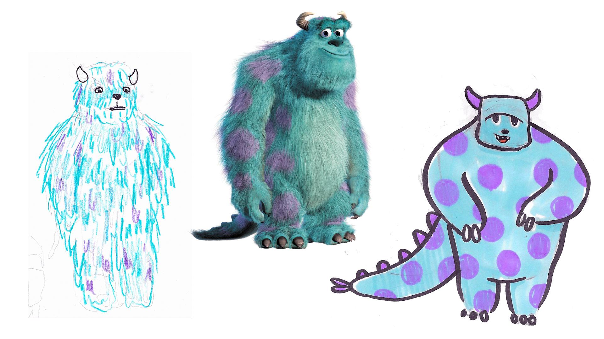 """SULLY  Pixar's """"Monster's Inc"""", 2001."""
