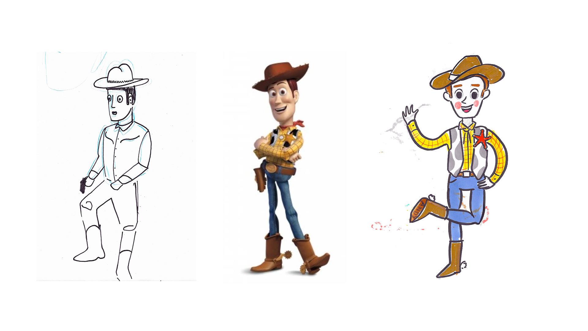 """WOODY Pixar's """"Toy Story"""", 1995."""