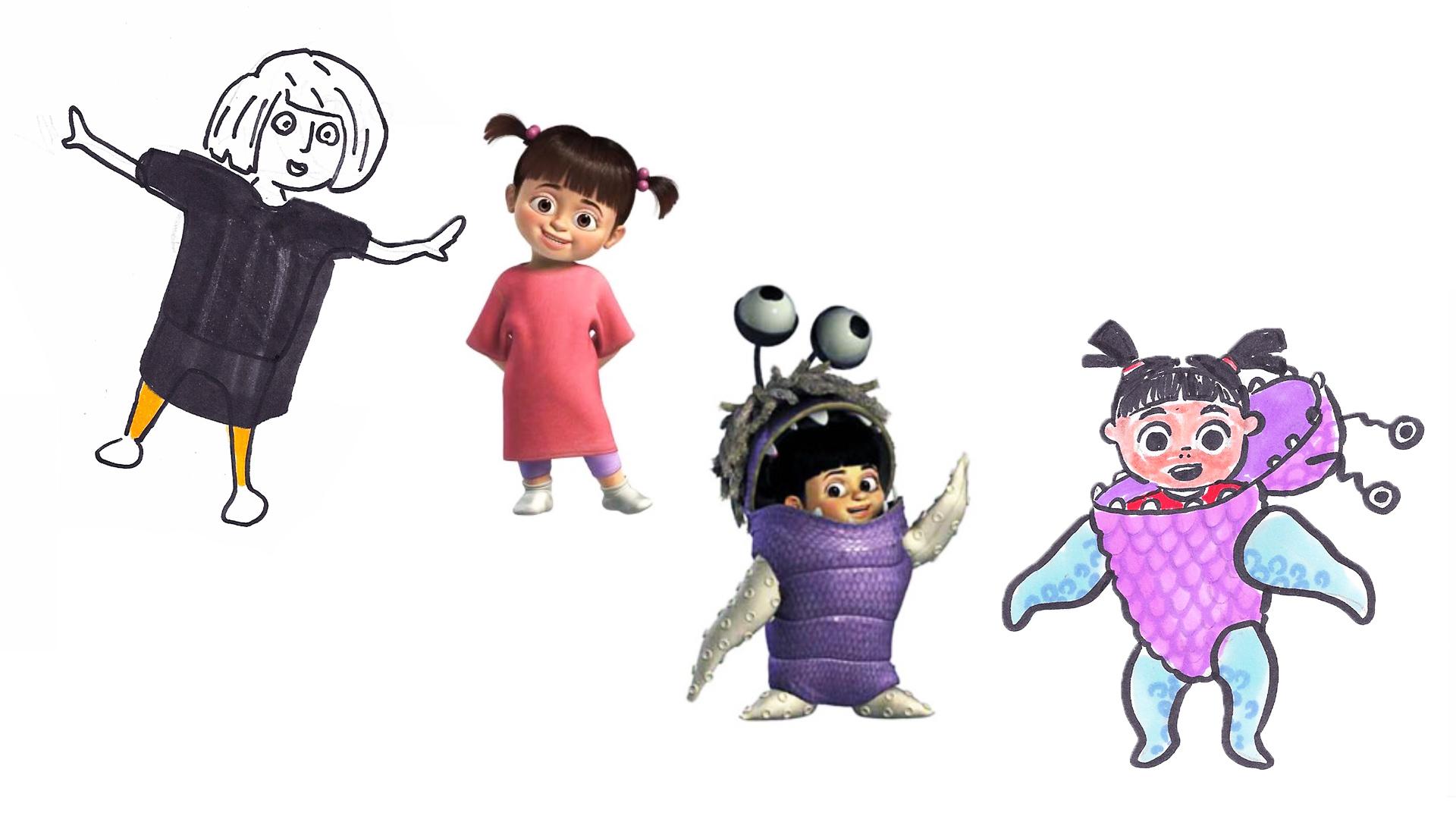 "BOO  Pixar's ""Monsters Inc."", 2001."