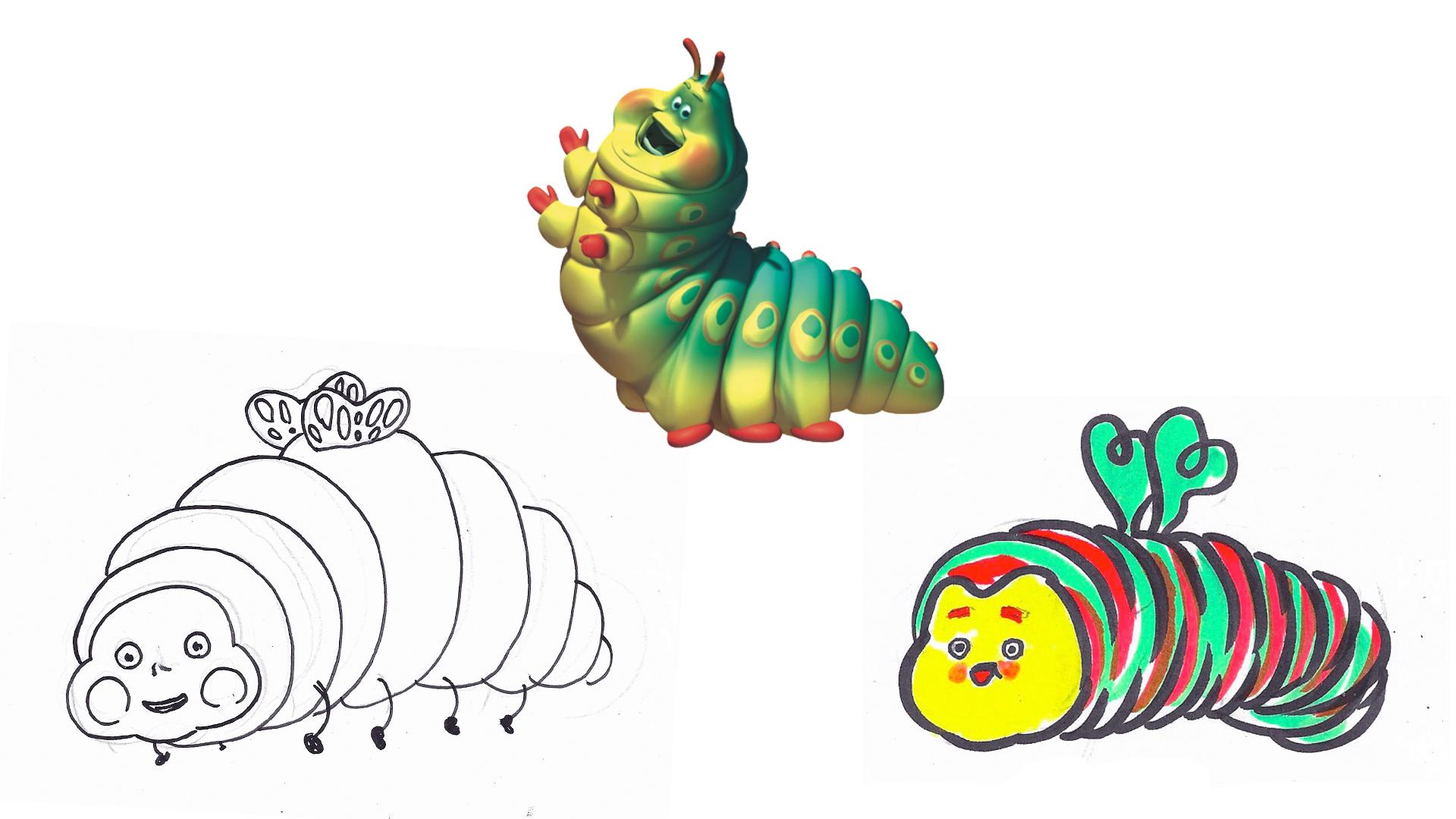 "HEIMRICH  Pixar's ""A Bug's Life"", 1998."