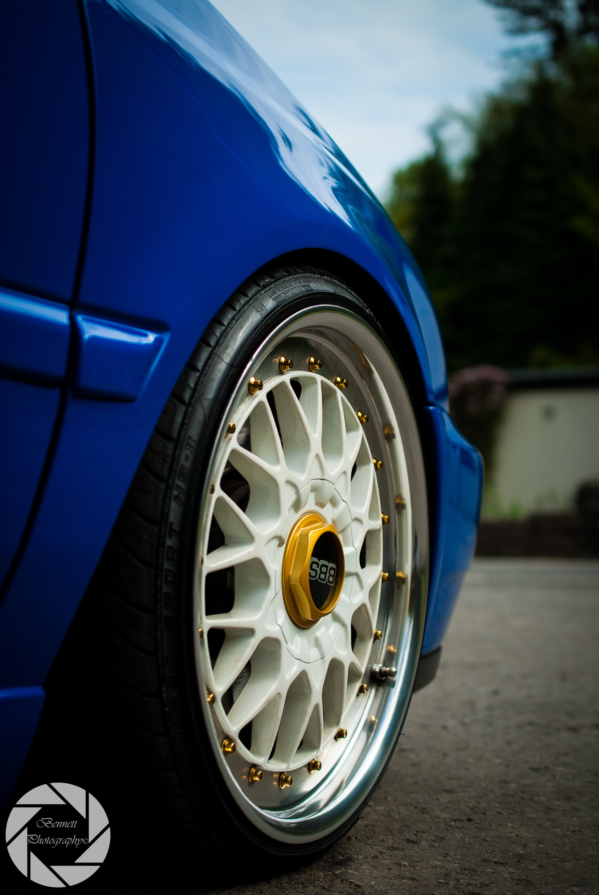 Dan prides himself on his car cleaning, not only does he exhaust himself each weekend on his own car, cleaning hard stubborn areas such as these beautiful BBS split rims, he also is very eager to do a spot of cleaning for his mates car's