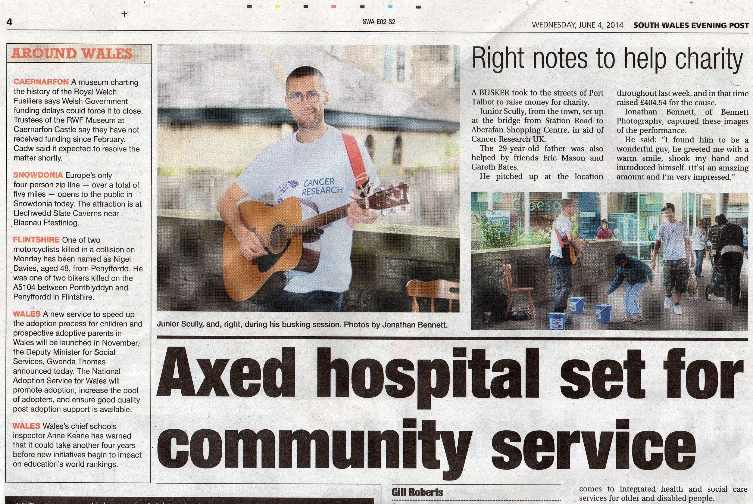 Evening Post feature