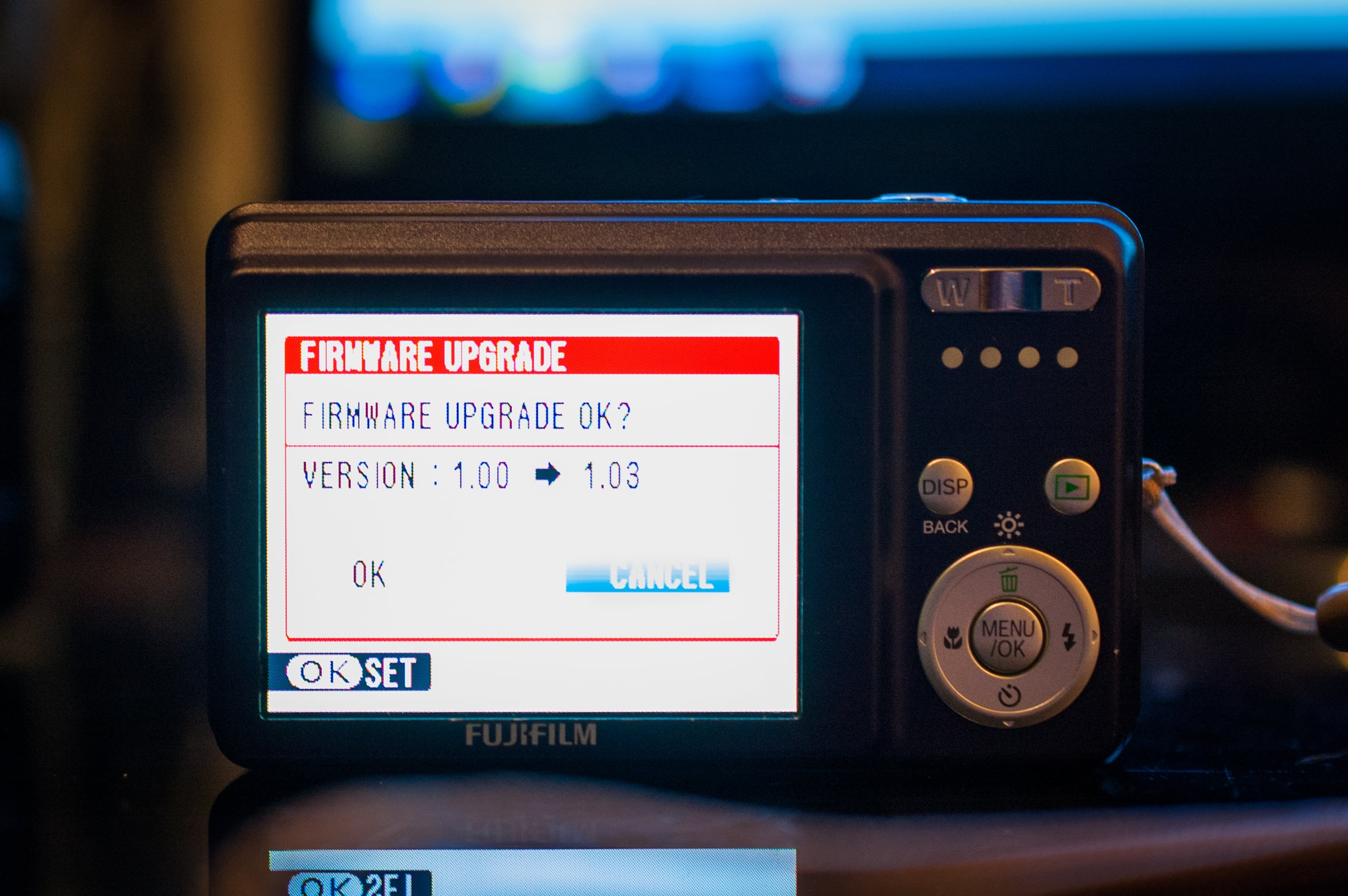Fuji J10 getting a firmware update