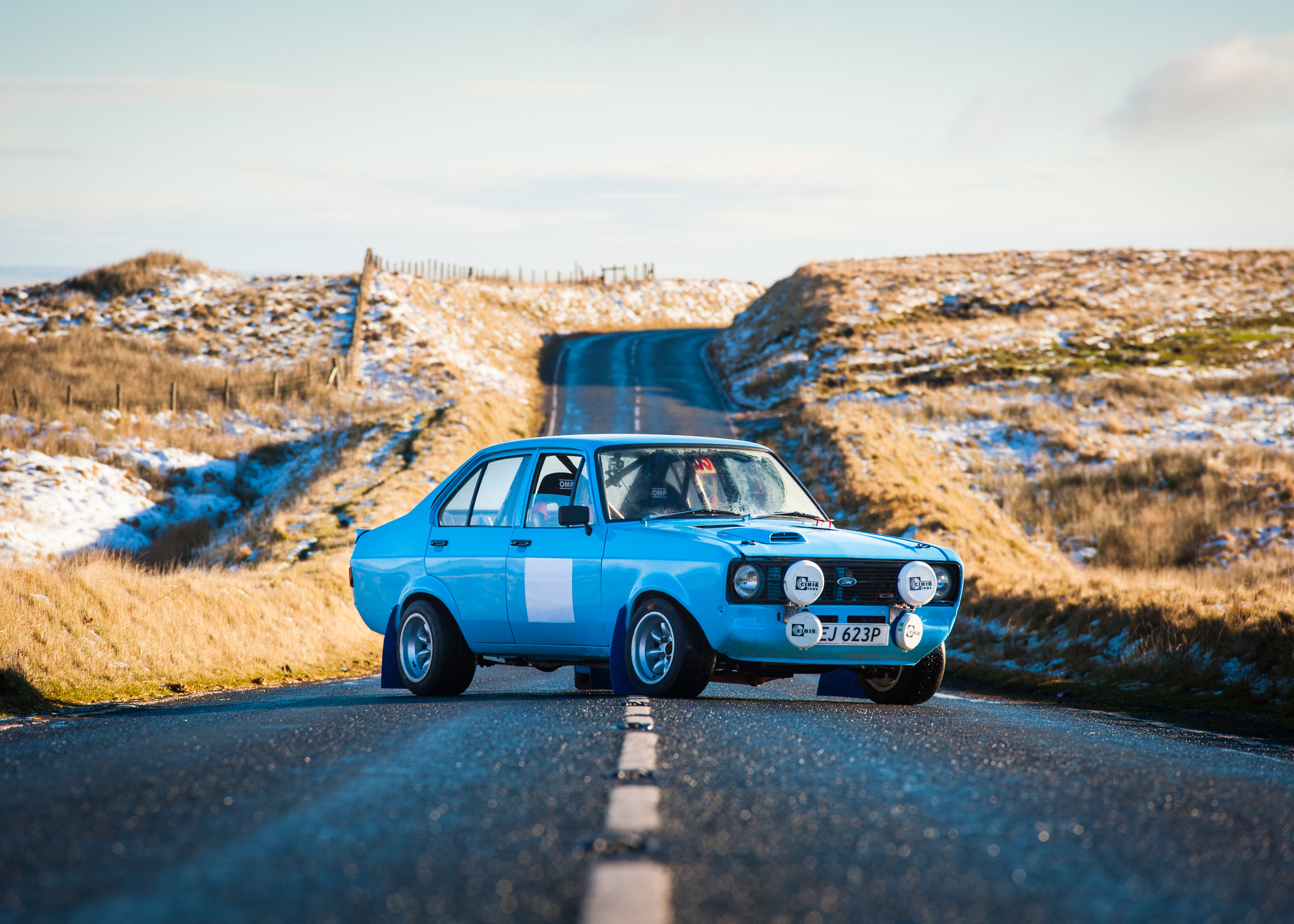 set in the beautiful welsh valleys, the escort looks right at home.
