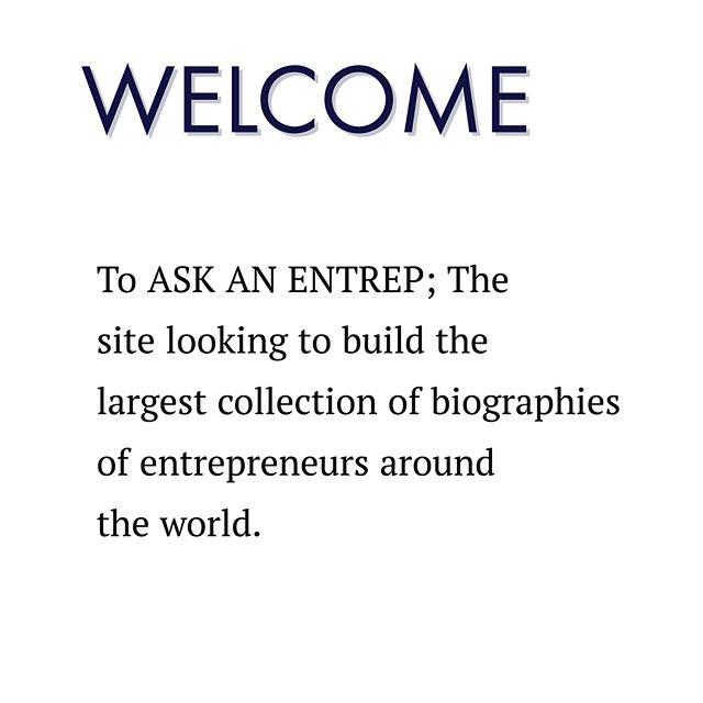 Welcome to @askanentrep!! Follow for information on business and start ups!! #Askanentrep#Business#Entrepreneurship#WontStop#Mindset#Success#Hustle#Freedom#BusinessOwner#OnlineBusiness#Coaching#Ambition#Inspire#ThinkBig#Startup#HardWork#Businessman#BeYourOwnBoss#SmallBusiness#Believe#Motivate#Mentor #mentoring#Givingback#InternetBusiness#Success #entrepreneur