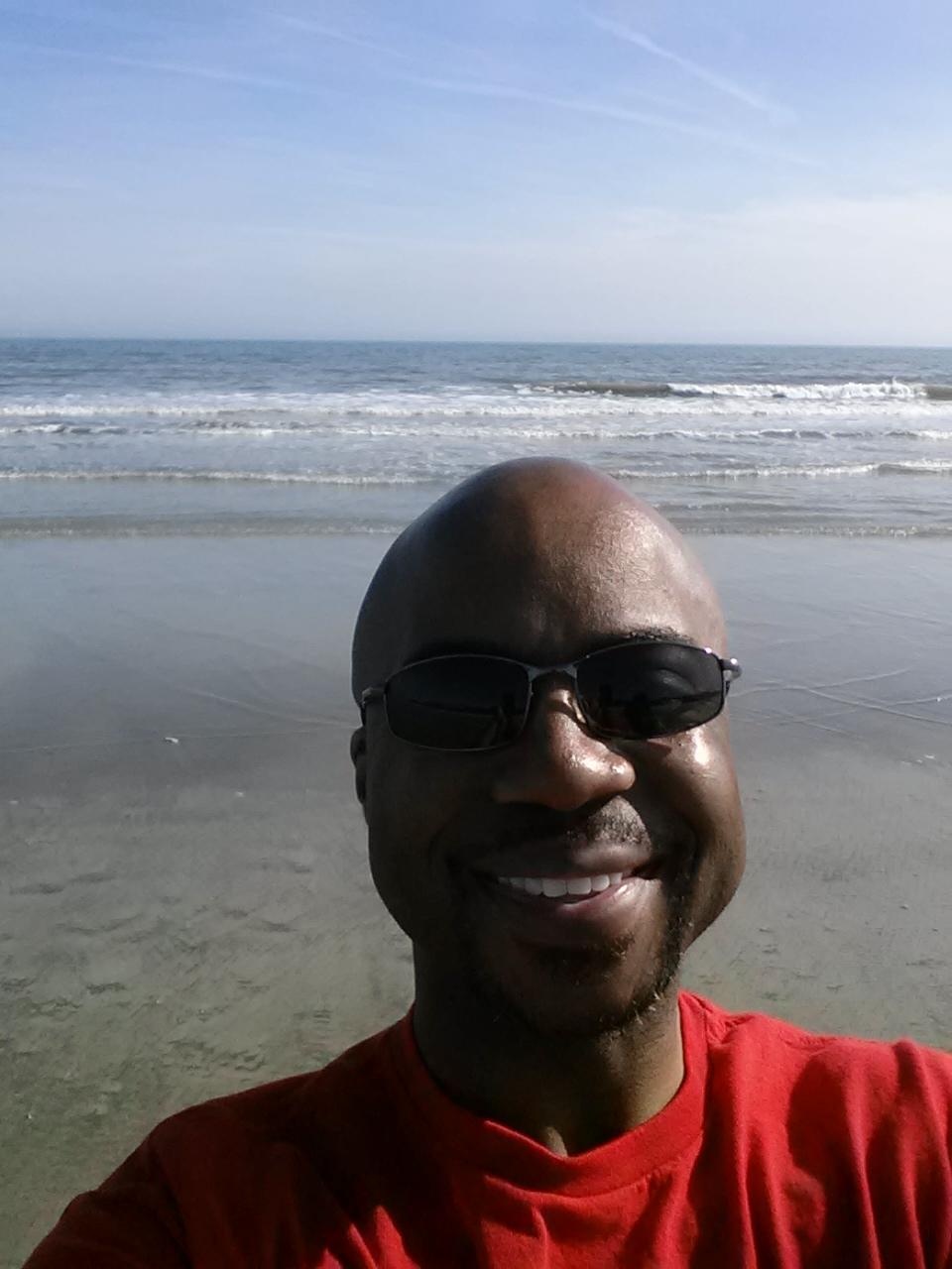 Me resting inSouth Carolina.